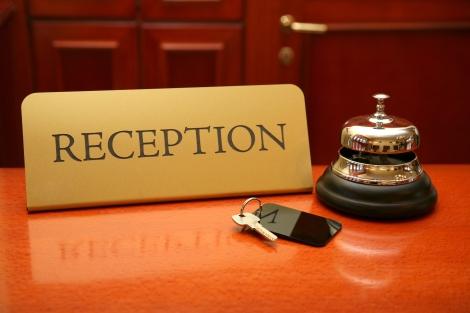 InternationalBellhop  Reception Desk