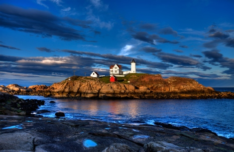 Nubble Lighthouse Sunset
