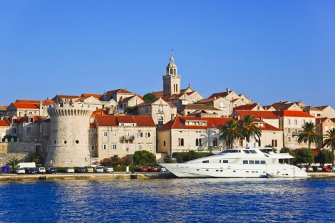 City of Korcula, Croatia