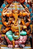 Lord ganesha - wood carving
