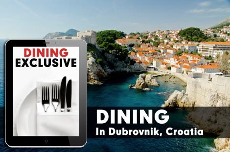 Restaurants in Dubrovnik, Croatia