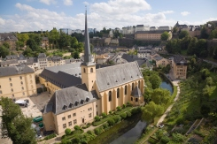 old monastery city Luxembourg