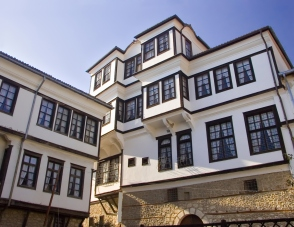 Traditional house in Ohrid, Macedonia