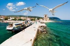 Port Ouranoupolis, Mount Athos, Greece