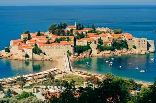Sveti Stefan resort island-hotel in Montenegro