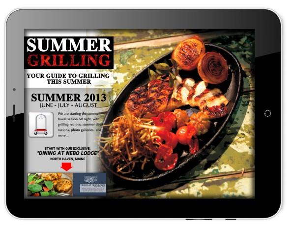 iBellhop -- Summer Grilling 2013 -- Exclusive Ipad