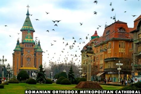 Romanian Orthodox Metropolitan Cathedral, Timisoara, Romania.
