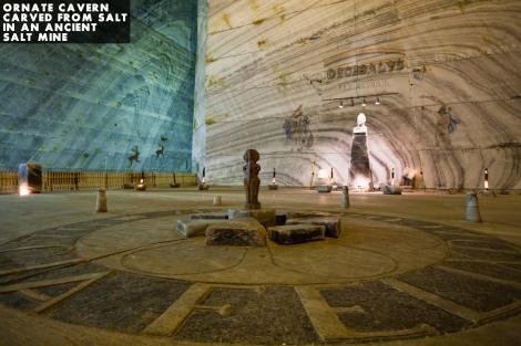 salt mine sculpture