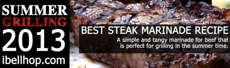 Best Steak Marinade Recipe -- ibellhop.com