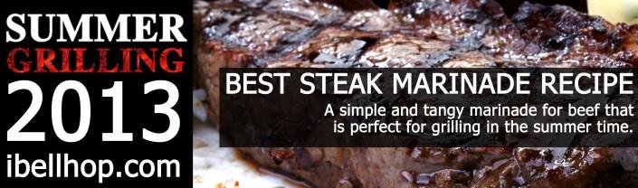 Best Steak Marinade Recipe -- ibellhop.com