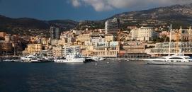 Monaco from the sea
