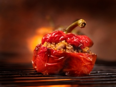 BBQ Stuffed Peppers
