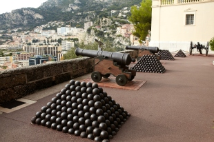 Cannons in Monte-Carlo