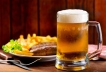 Bratwurst and a Cold American Lager