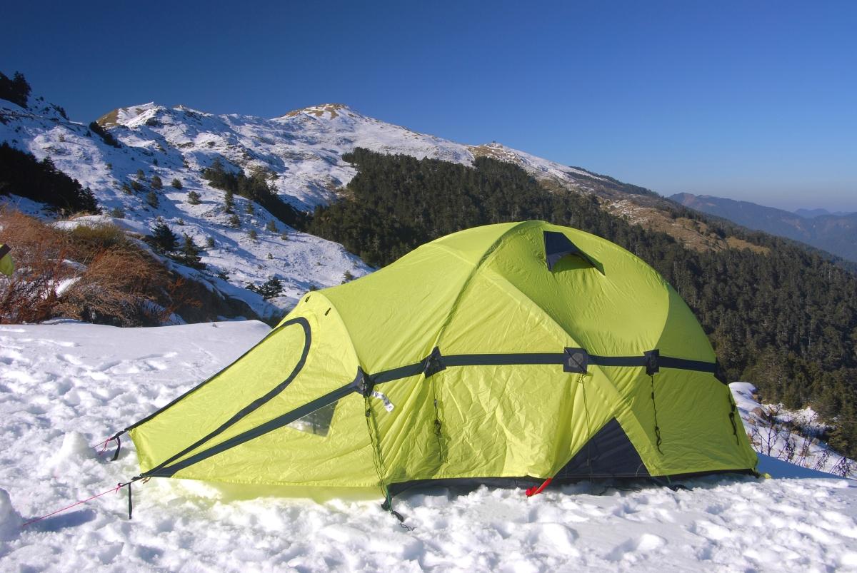 Mountain Camping, Taiwan