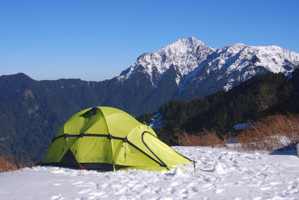 Snow Camping, Taiwan