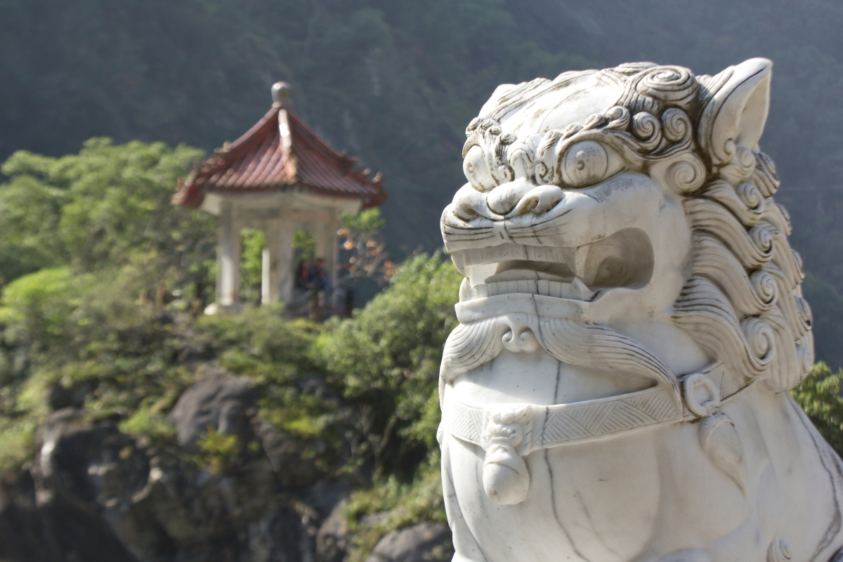 Taroko National Park Statues