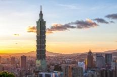 Sunset in Taipei