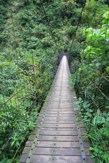 Suspension Footbridge in Taiwan