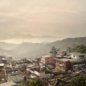 City scenery of Taiwan