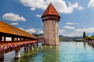 The Chapel Bridge, Lucerne