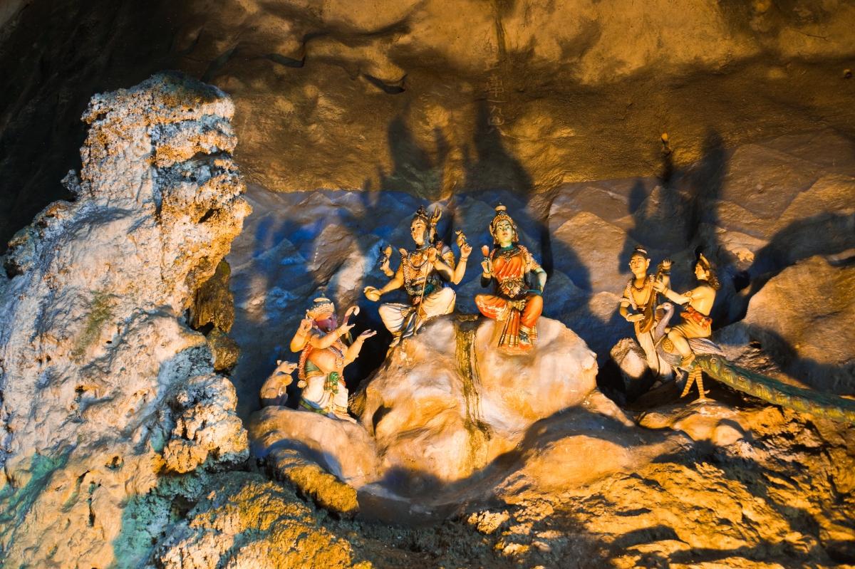 Statue of hindu god at Batu caves