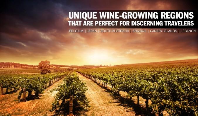 Unique Wine Growing Regions