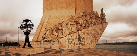 Monument to the Discoveries in Lisbon.