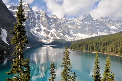Moraine Lake Canada Travel Photos