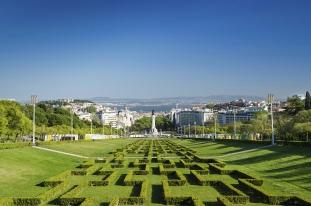 Eduardo 7th Park Gardens Lisbon Portugal