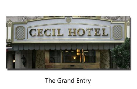 Haunted Cecil hotel LA
