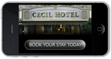 Haunted Cecil Hotel LA