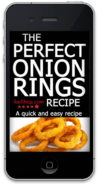 Fried Onion Rings For Holiday Parties