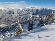 Ski Resort in the Pyreenes