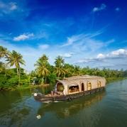 Houseboat in Backwaters of Kerala