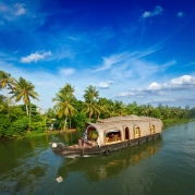Houseboat in Backwaters of Kerala