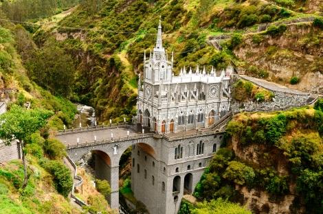 Colombia, Las Lajas Monastary Bridge