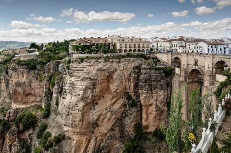 The New Bridge Ronda Spain