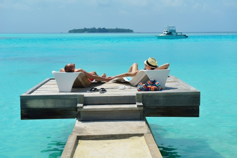 The Best Seat in Maldives