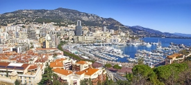 Panoramic view of Monaco