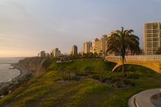 View of Miraflores , Lima - Peru