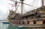 pirate ship off Genoa
