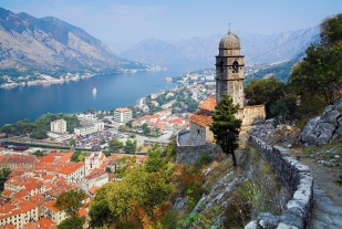 View of the Kotor, Montenegro