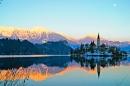 Church of the Assumption, Lake Bled, Slovenia.