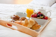 breakfast in bed Room Service