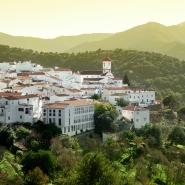 White Village of Genalguacil in Spain