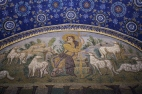 mosaic of the Galla Placidia mausoleum.