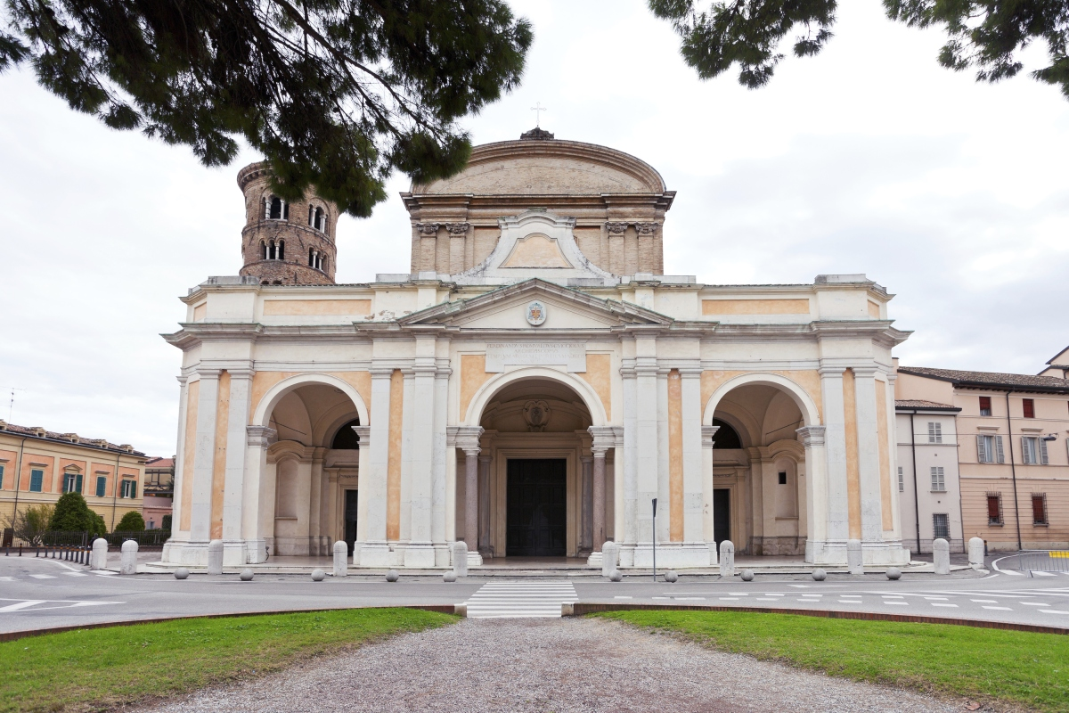 cathedral in Ravenna, Italy