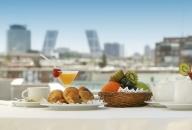 Morning Breakfast in a terrace