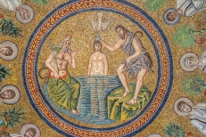 Ravenna church mosaic